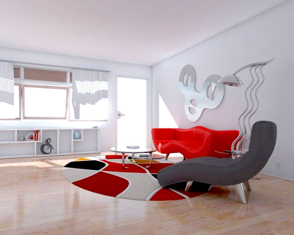 Contemporary-colorful-carpet-for-living-room2