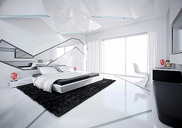 5-Black-and-white-modern-bedroom