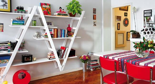 diy-ladder-shelf-ideas-bookshelf-composition-upside-down