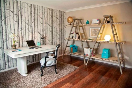home-office-decor-shelf-storage-old-ladder